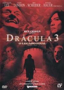 Drácula 3: O Legado Final - Poster / Capa / Cartaz - Oficial 2