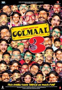 Golmaal 3 - Poster / Capa / Cartaz - Oficial 1