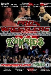 Pro Wrestlers vs Zombies - Poster / Capa / Cartaz - Oficial 1