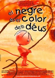 El negre és el color dels déus - Poster / Capa / Cartaz - Oficial 1