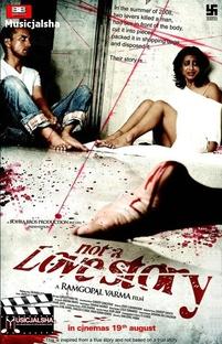 Not a Love Story - Não É Uma História De Amor - Poster / Capa / Cartaz - Oficial 1