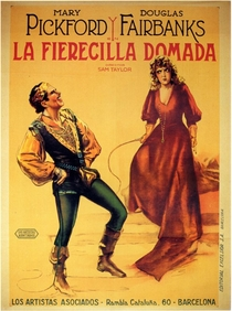A Megera Domada - Poster / Capa / Cartaz - Oficial 1