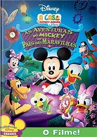 A Casa do Mickey: As Aventuras do Mickey no País das Maravilhas - Poster / Capa / Cartaz - Oficial 1
