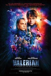 Valerian e a Cidade dos Mil Planetas - Poster / Capa / Cartaz - Oficial 4