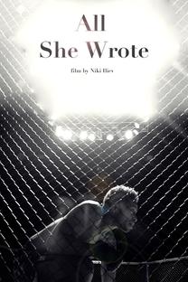 All She Wrote - Poster / Capa / Cartaz - Oficial 1