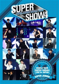 SUPER JUNIOR - SUPER SHOW 4 - Poster / Capa / Cartaz - Oficial 1