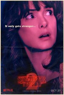 Stranger Things (2ª Temporada) - Poster / Capa / Cartaz - Oficial 9