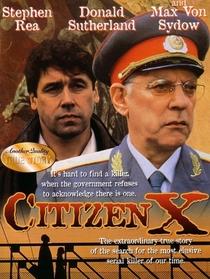 Cidadão X - Poster / Capa / Cartaz - Oficial 5