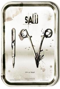 Jogos Mortais 4 - Poster / Capa / Cartaz - Oficial 2