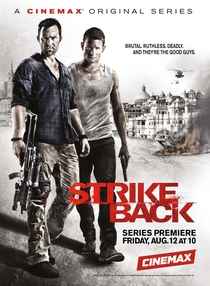 Strike Back (2ª Temporada) - Poster / Capa / Cartaz - Oficial 1
