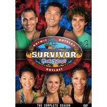 Survivor: Cook Islands (13ª Temporada) - Poster / Capa / Cartaz - Oficial 2
