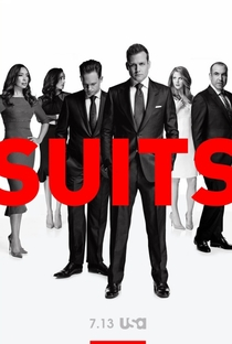 Suits (6ª Temporada) - Poster / Capa / Cartaz - Oficial 1