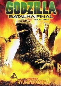 Godzilla Batalha Final - Poster / Capa / Cartaz - Oficial 2