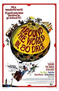 A Volta ao Mundo em 80 Dias - Poster / Capa / Cartaz - Oficial 1