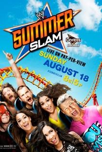 WWE Summerslam - (2013) - Poster / Capa / Cartaz - Oficial 1
