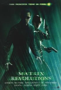 Matrix Revolutions - Poster / Capa / Cartaz - Oficial 7