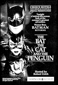 The Bat, the Cat, and the Penguin - Poster / Capa / Cartaz - Oficial 2