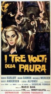As Três Máscaras do Terror - Poster / Capa / Cartaz - Oficial 2