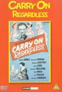 Carry on Regardless - Poster / Capa / Cartaz - Oficial 1