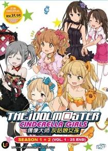 The iDOLM@STER: Cinderella Girls (1ª Temporada) - Poster / Capa / Cartaz - Oficial 3