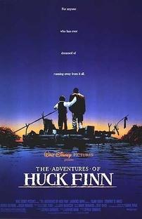 As Aventuras de Huck Finn - Poster / Capa / Cartaz - Oficial 1