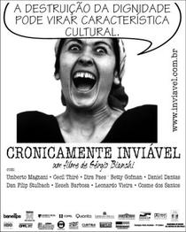 Cronicamente Inviável - Poster / Capa / Cartaz - Oficial 4