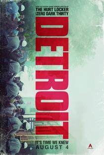 Detroit em Rebelião - Poster / Capa / Cartaz - Oficial 1