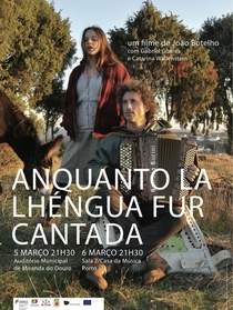 Anquanto la Lhéngua fur Cantada  - Poster / Capa / Cartaz - Oficial 1