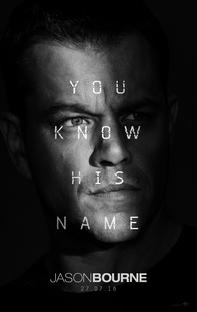 Jason Bourne - Poster / Capa / Cartaz - Oficial 1