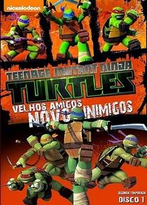 As Tartarugas Ninja – Velhos Amigos, Novos Inimigos - Poster / Capa / Cartaz - Oficial 1