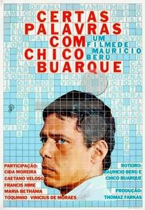 Certas Palavras com Chico Buarque - Poster / Capa / Cartaz - Oficial 2