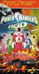 Power Rangers em 3-D: Força Tripla - Poster / Capa / Cartaz - Oficial 1