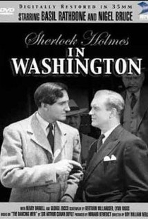 Sherlock Holmes Em Washington - Poster / Capa / Cartaz - Oficial 2