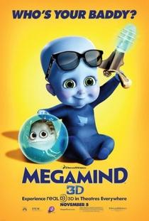 Megamente - Poster / Capa / Cartaz - Oficial 4
