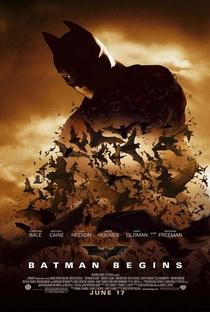 Batman Begins - Poster / Capa / Cartaz - Oficial 6
