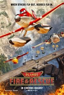 Aviões 2: Heróis do Fogo ao Resgate - Poster / Capa / Cartaz - Oficial 3