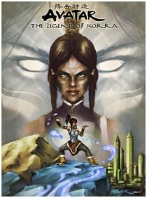 A Lenda de Korra (1ª Temporada) - Poster / Capa / Cartaz - Oficial 3