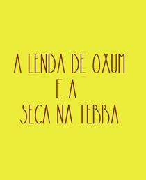 A lenda de Oxum e a seca na terra - Poster / Capa / Cartaz - Oficial 1