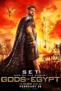 Deuses do Egito - Poster / Capa / Cartaz - Oficial 4