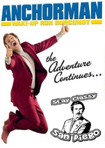 Wake Up, Ron Burgundy: The Lost Movie - Poster / Capa / Cartaz - Oficial 1