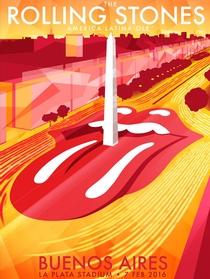 Rolling Stones - La Plata 2016 (1st Night) - Poster / Capa / Cartaz - Oficial 1