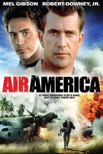 Air America - Loucos Pelo Perigo - Poster / Capa / Cartaz - Oficial 2
