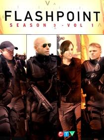 Flashpoint (3ª Temporada) - Poster / Capa / Cartaz - Oficial 2