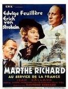 Marthe Richard au service de la France (Marthe Richard au service de la France)