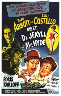 Abbott and Costello Meet Dr. Jekyll and Mr. Hyde  - Poster / Capa / Cartaz - Oficial 1