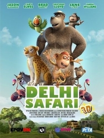 Delhi Safari  - Poster / Capa / Cartaz - Oficial 3