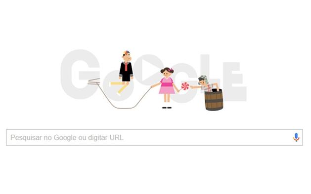 Chaves ganha doodle em comemoração aos 45 anos de programa