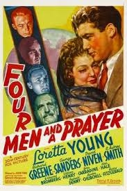 Quatro Homens e Uma Prece - Poster / Capa / Cartaz - Oficial 3
