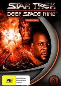 Jornada nas Estrelas: Deep Space Nine (4ª Temporada) - Poster / Capa / Cartaz - Oficial 2