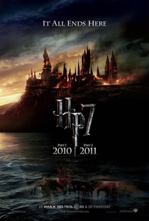 Harry Potter e as Relíquias da Morte - Parte 1 - Poster / Capa / Cartaz - Oficial 2
